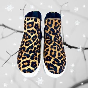 Sam Edelman Margot Leopard High Top Sneakers